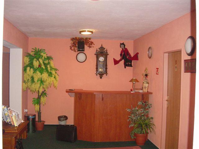 Hotel Čert recepce