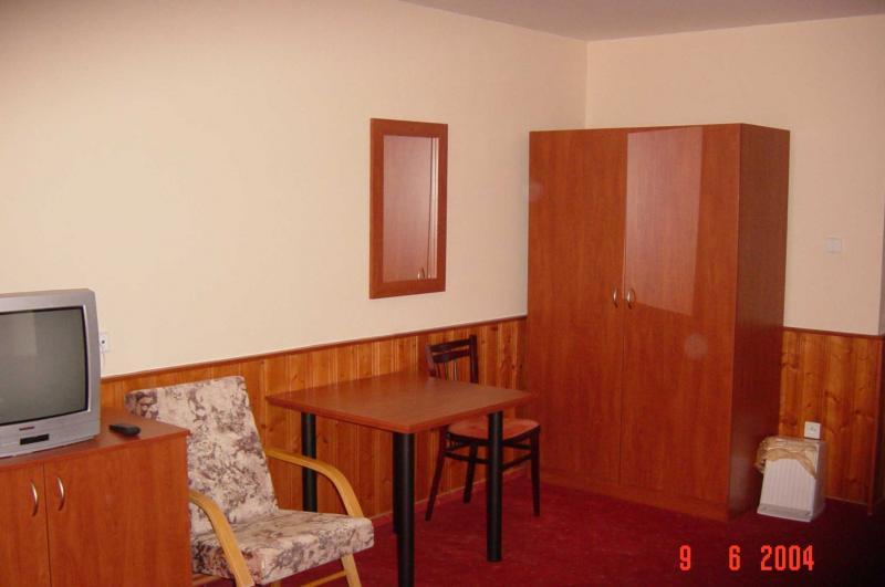 Hotel Čert interiér