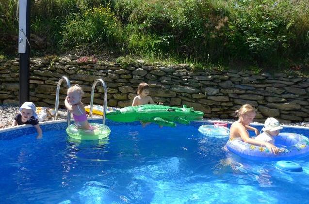 Penzion Farma Filoun - bazén