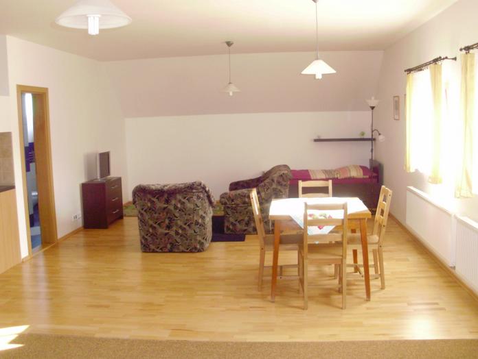 Chata Albrechta - malý apartmán