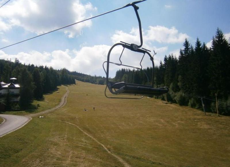 Sedačková lanovka Harrachov - Čertova hora