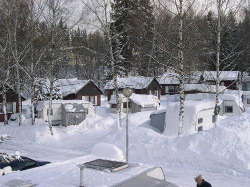 Camping Jiskra - zima