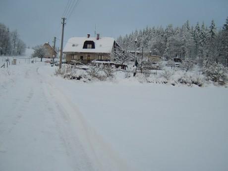 Apartmán Mužíčkovi - V zimě