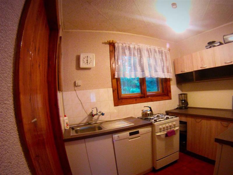 Chata U Špidlenů - kuchyňka