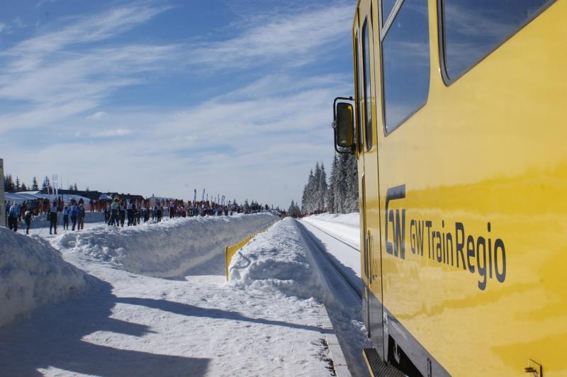 Vlak do Szklarske Poręby