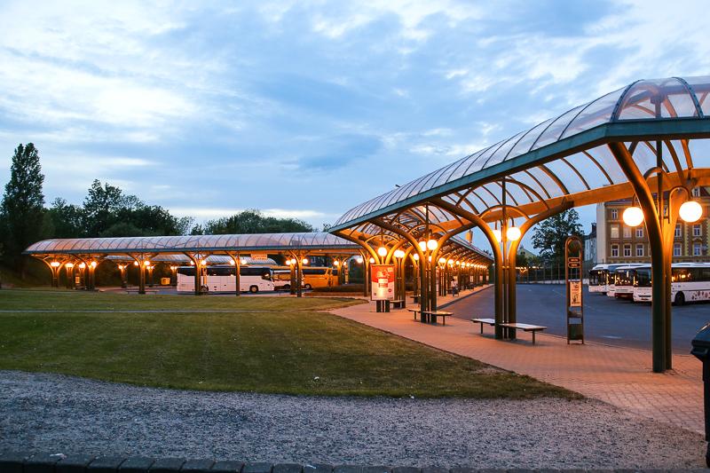 autobusové nádraží