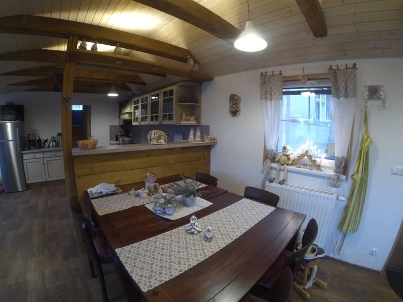 Penzion Ve Stodole – společenská místnost