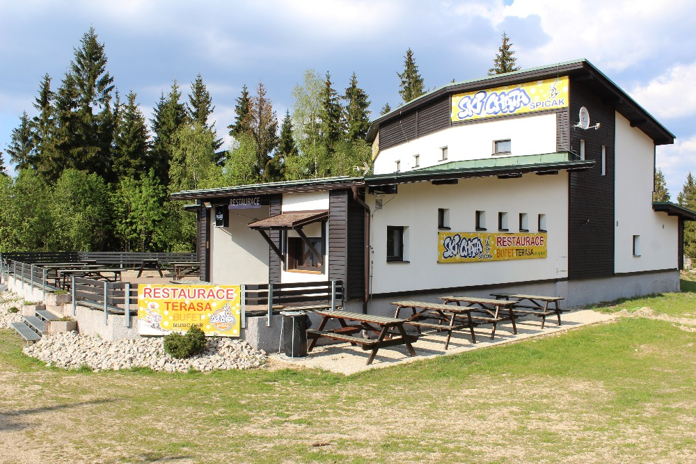 Ski chata Tanvaldský Špičák