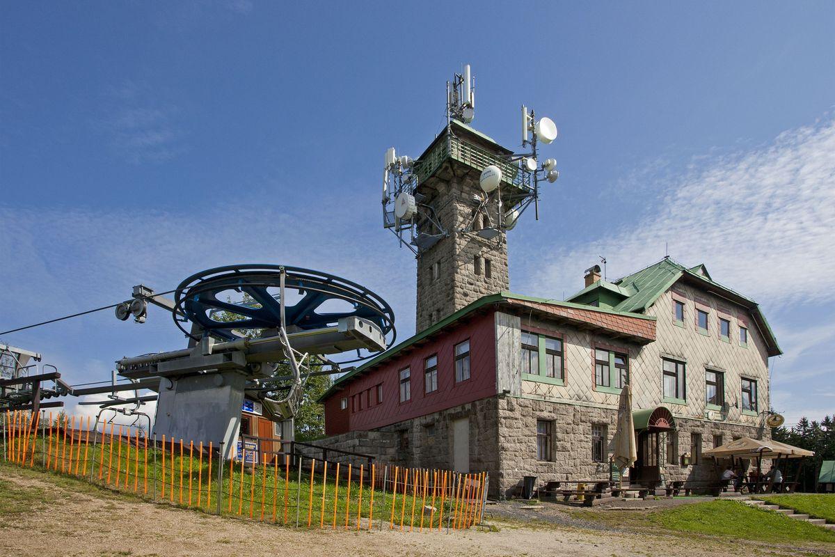 Horská chata Tanvaldský Špičák