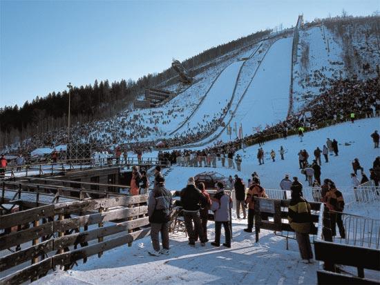 Skiareál Harrachov