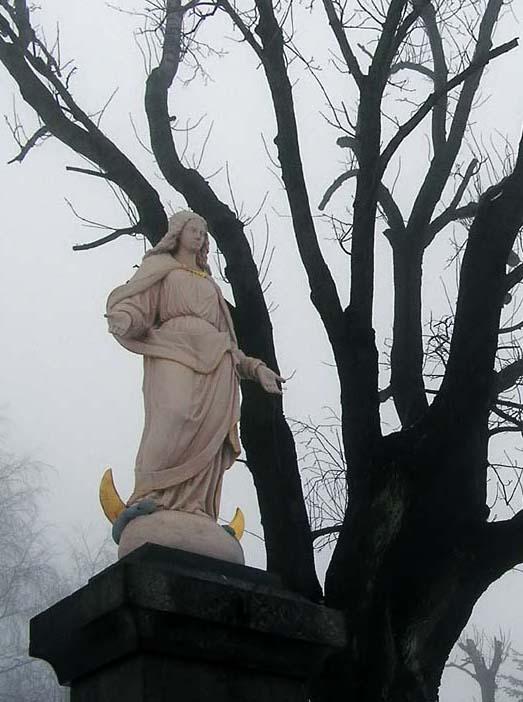 Socha Panny Marie  v Příchovicích