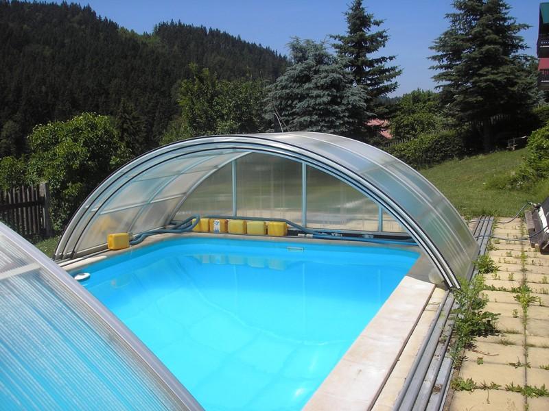 Pension Josef – venkovní bazén