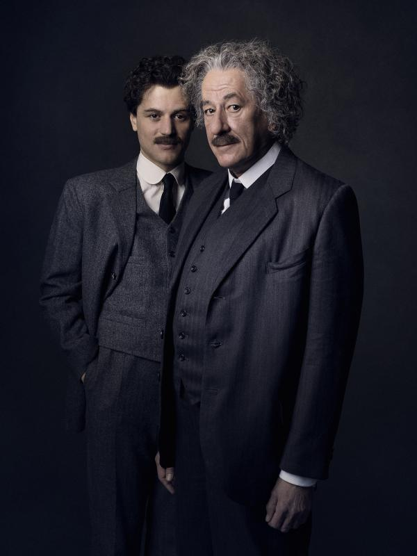 Představitelé Alberta Einsteina v seriálu Genius