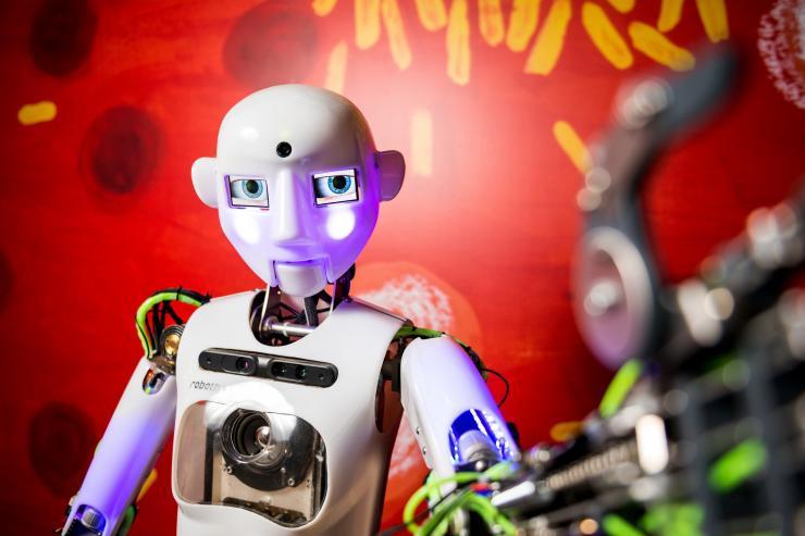 Humanoidní robot Thespian