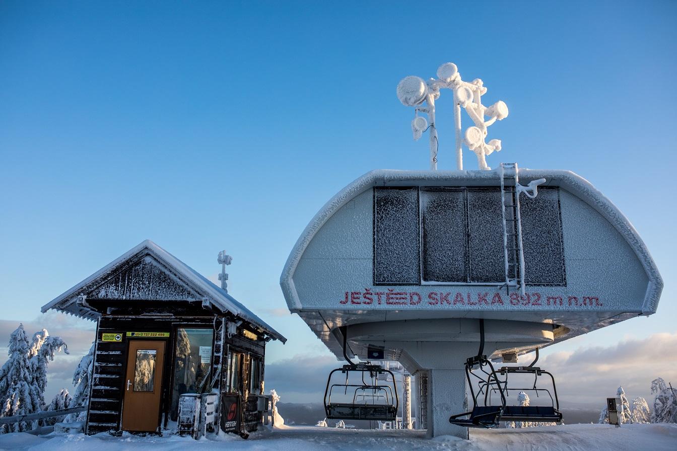 Skiareál Ještěd - Skalka