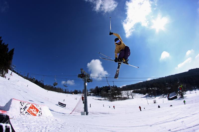 Ski areál Ještěd / Pláně