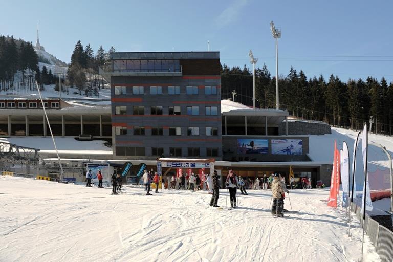 Ski areál Ještěd
